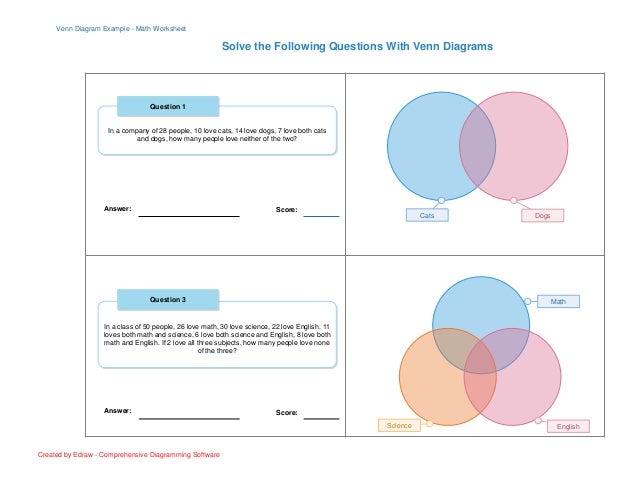 How To Solve Venn Diagram Manual Guide