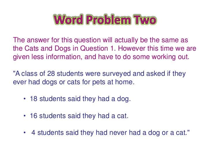 math worksheet : venn diagram word problems : Venn Diagram Word Problems
