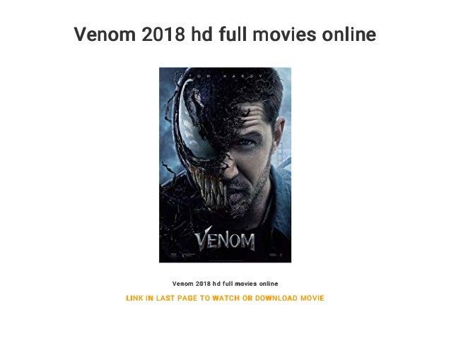 Venom 2018 Hd Full Movies Online