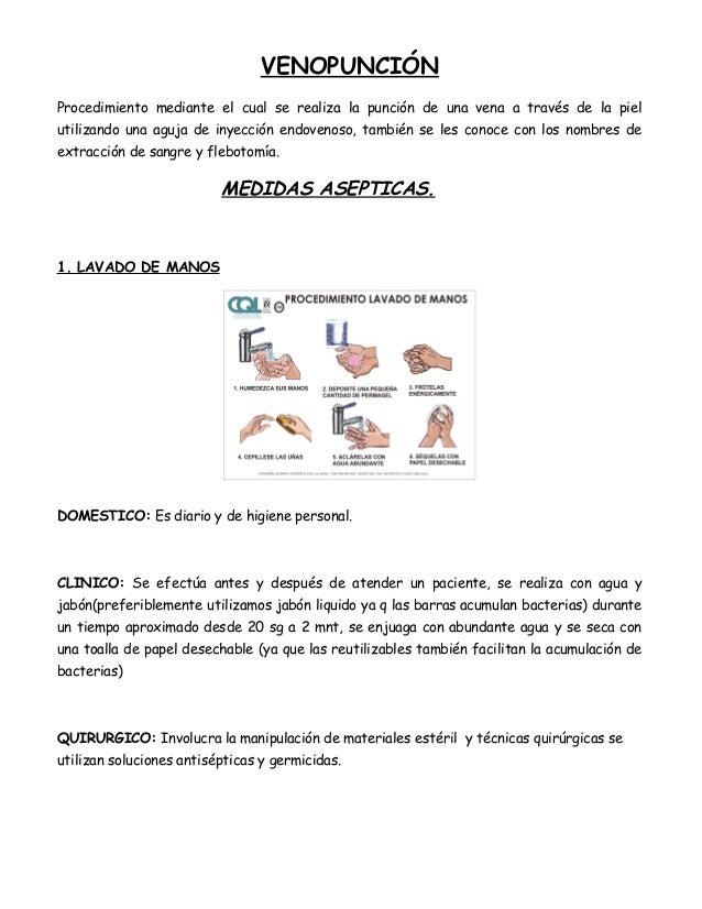 Venopunción y administración de medicamentos