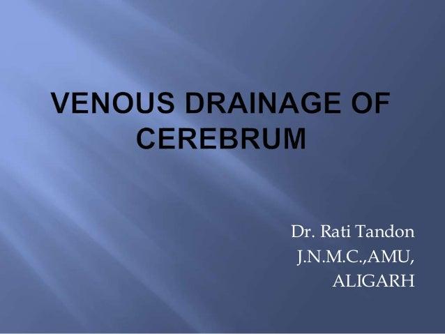 Venous Drainage Of Brain