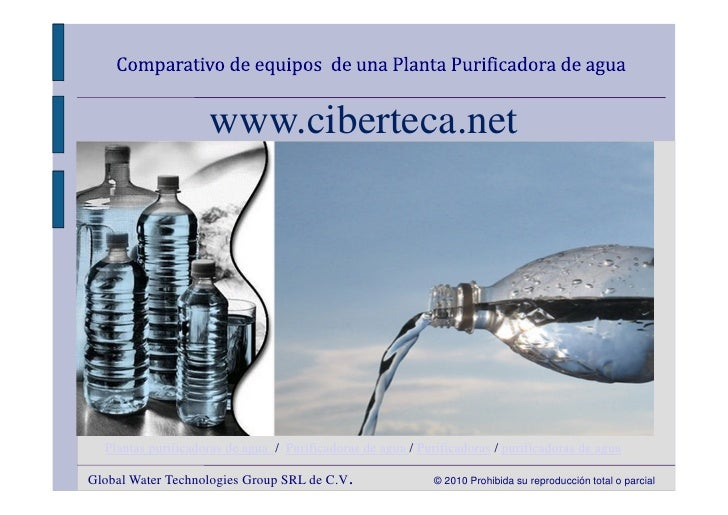 www.ciberteca.net  Plantas purificadoras de agua / Purificadoras de agua / Purificadoras / purificadoras de aguaGlobal Wat...