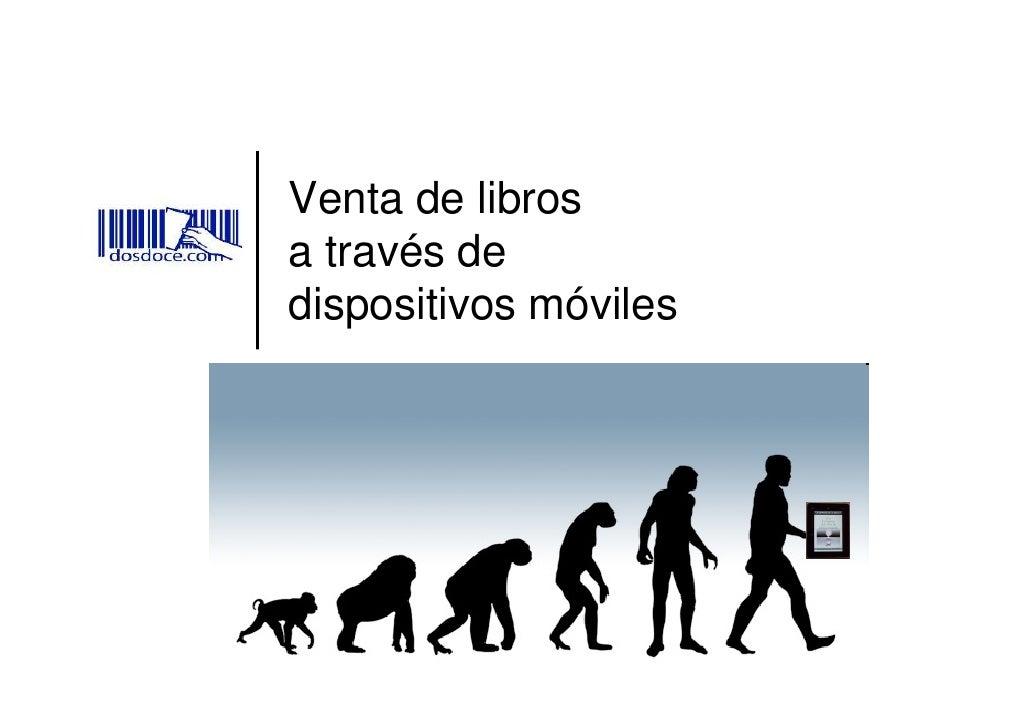 Venta de libros a través de dispositivos móviles