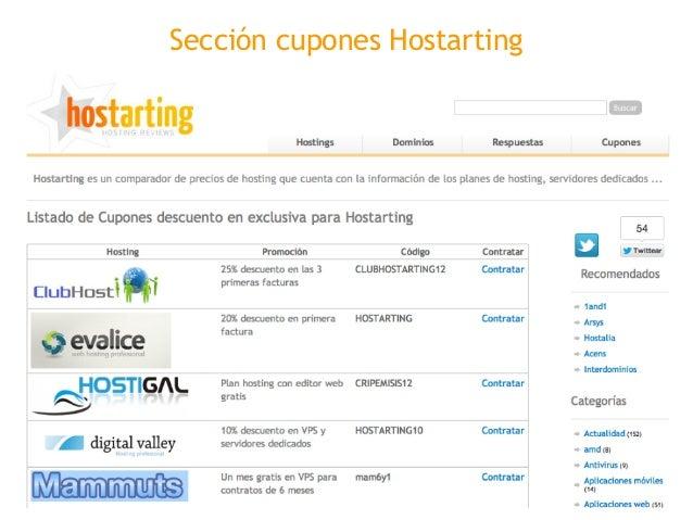 Venta hostarting comparador de precios de hosting Slide 3