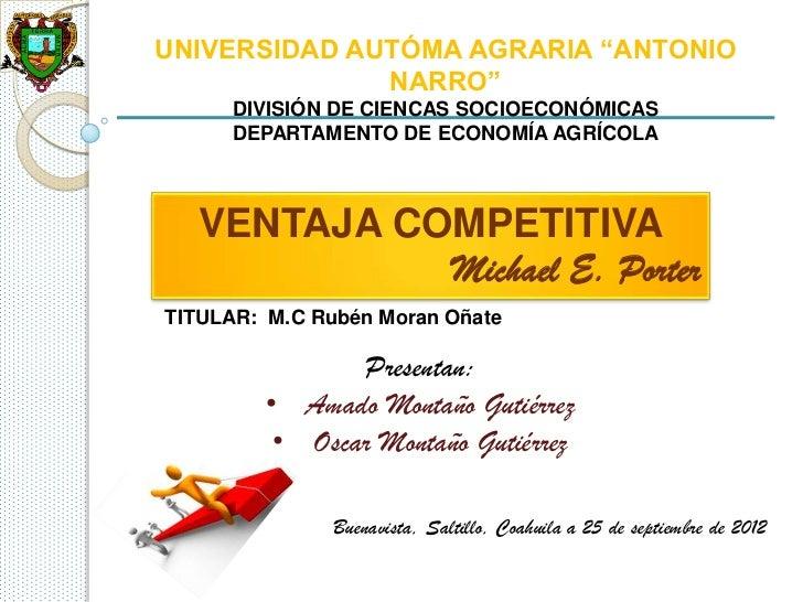 """UNIVERSIDAD AUTÓMA AGRARIA """"ANTONIO              NARRO""""      DIVISIÓN DE CIENCAS SOCIOECONÓMICAS      DEPARTAMENTO DE ECON..."""