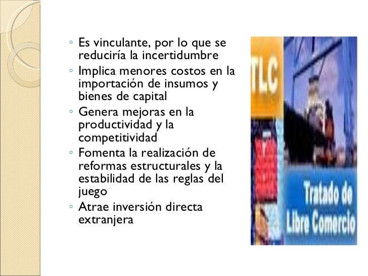 Ventajas Y Desventajas Del Tlc Slide 3