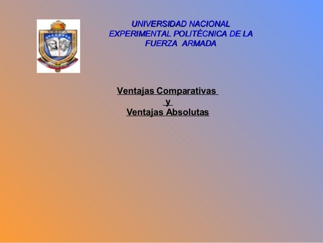 UNIVERSIDAD NACIONALUNIVERSIDAD NACIONAL EXPERIMENTAL POLITÉCNICA DE LAEXPERIMENTAL POLITÉCNICA DE LA FUERZA ARMADAFUERZA ...