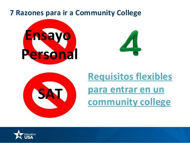 7 Razones para ir a Community College Enseñanza es la prioridad