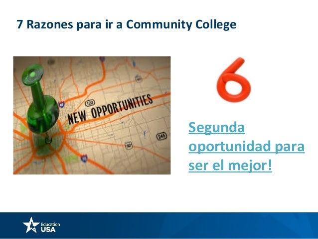 7 Razones para ir a Community College Buena calidad educativa