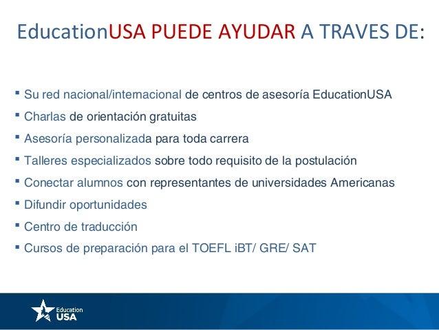 Los 5 pasos para estudiar en EE.UU.