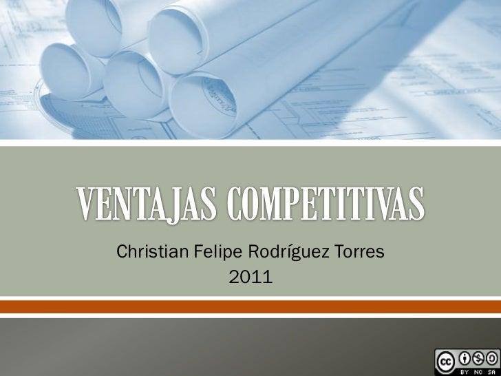 Christian Felipe Rodríguez Torres               2011