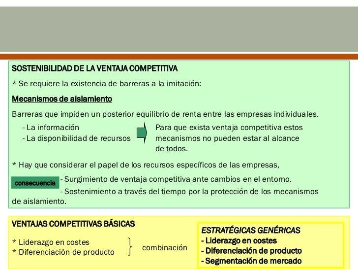 La competencia determina el éxito ofracaso de las empresas.Una empresa debe preocuparse porestudiar la conveniencia de l...