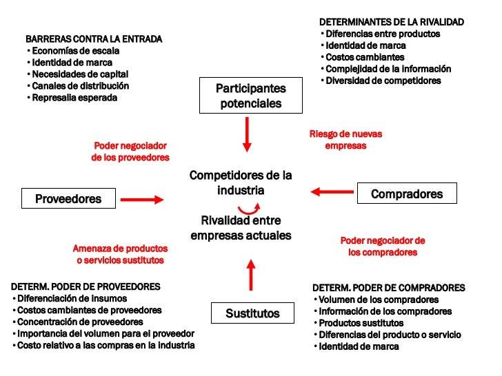 DETERMINANTES DE LA RIVALIDAD                                                                  •Diferencias entre producto...