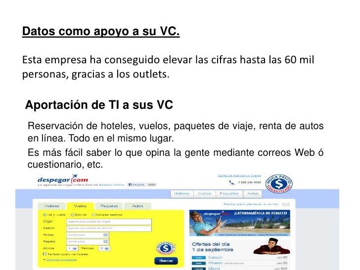Datos como apoyo a su VC.<br />Presume que son líderes en el mercado depaquetería y mensajería en México, el cual tiene u...