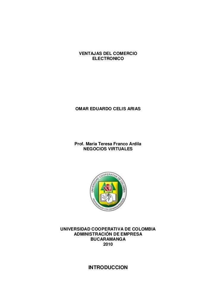 Ventajas del comercio_electronico[1] omar celis