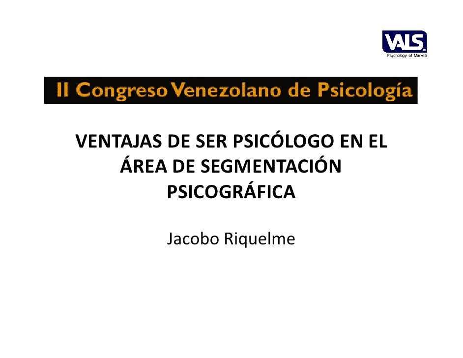 Ventajas de ser psicólogo psicografia vals-oct2010-v1