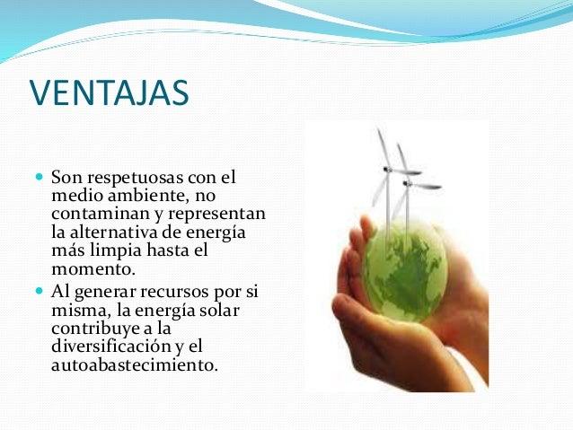 Ventajas Y Desventajas De La Energías Renovables