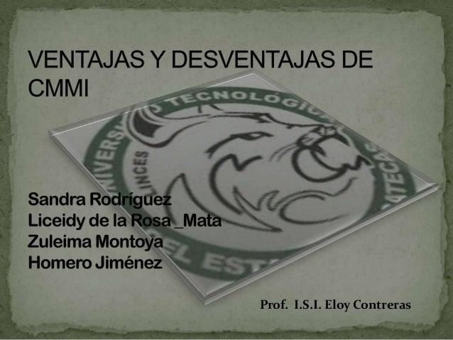 Prof. I.S.I. Eloy Contreras