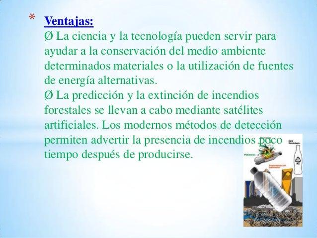 Ventajas y desventajas de la contaminación Slide 2