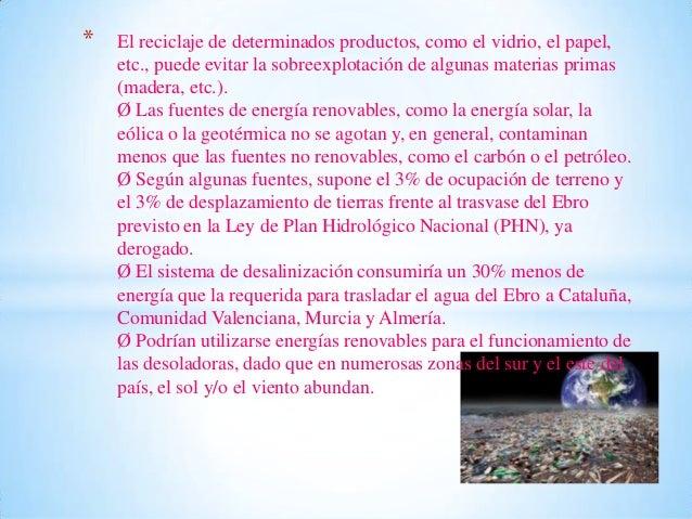 Ventajas y desventajas de la contaminación Slide 3