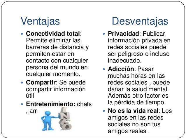 Ventajas y desventajas del uso de las redes sociales tics 4 for Arquitectura para la educacion pdf