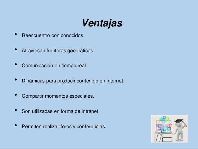 Ventajas y desventajas de redes sociales 1 Slide 2