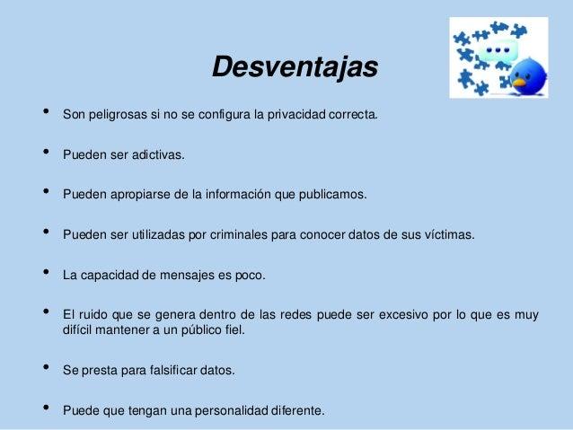 Ventajas y desventajas de redes sociales 1 Slide 3
