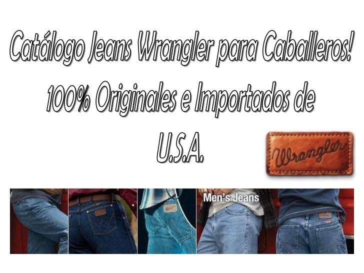 Venta Jeans Wrangler Importados De U S A