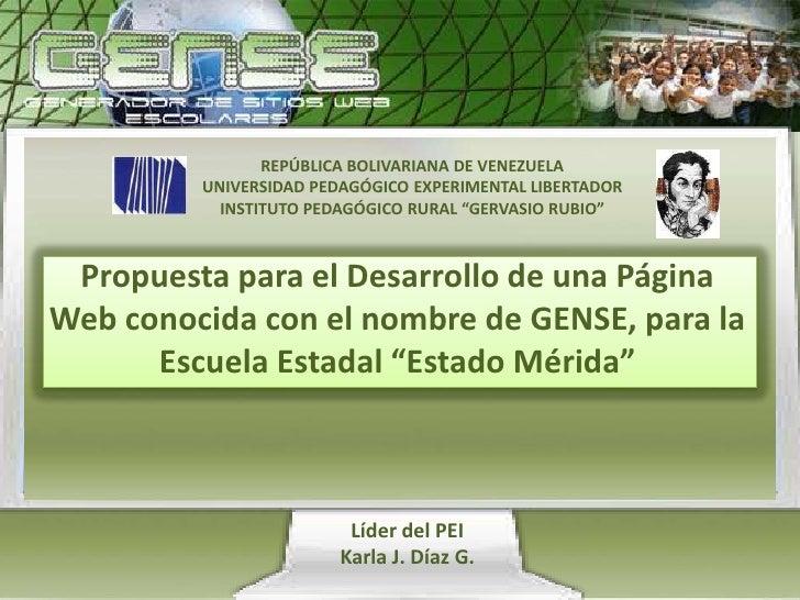 "REPÚBLICA BOLIVARIANA DE VENEZUELAUNIVERSIDAD PEDAGÓGICO EXPERIMENTAL LIBERTADORINSTITUTO PEDAGÓGICO RURAL ""GERVASIO RUBIO..."