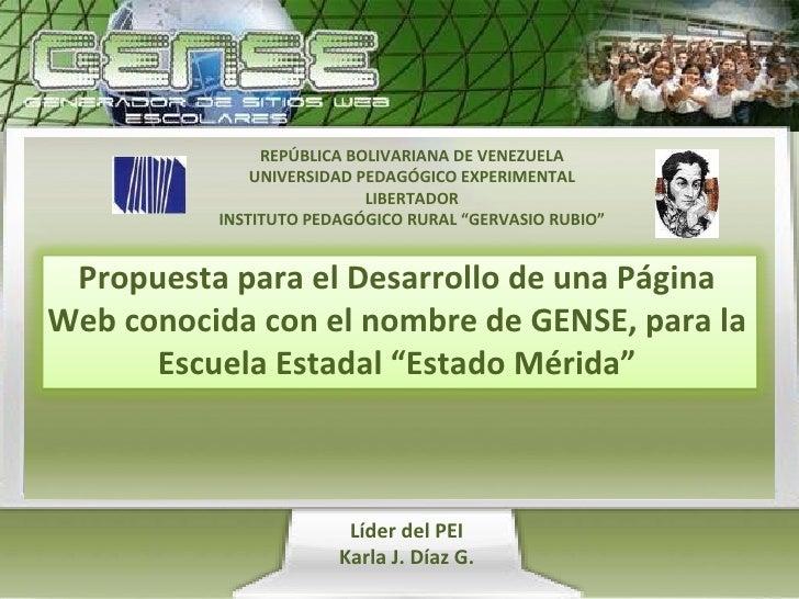 "REPÚBLICA BOLIVARIANA DE VENEZUELA UNIVERSIDAD PEDAGÓGICO EXPERIMENTAL LIBERTADOR INSTITUTO PEDAGÓGICO RURAL ""GERVASIO RUB..."