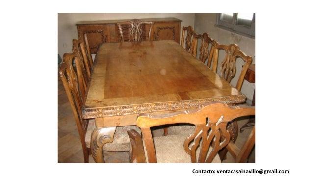 venta muebles antiguos u oa santiago chile