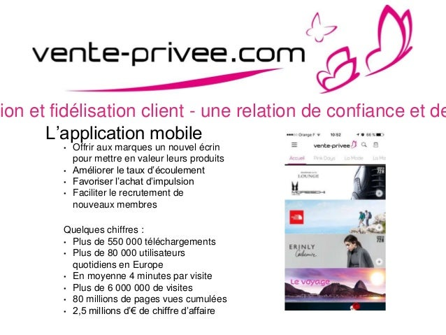 vente privee recrutement