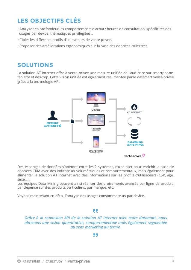 Vente priv e pilote sa strat gie mobile gr ce aux donn es digital ana - Suivi commande vente privee ...