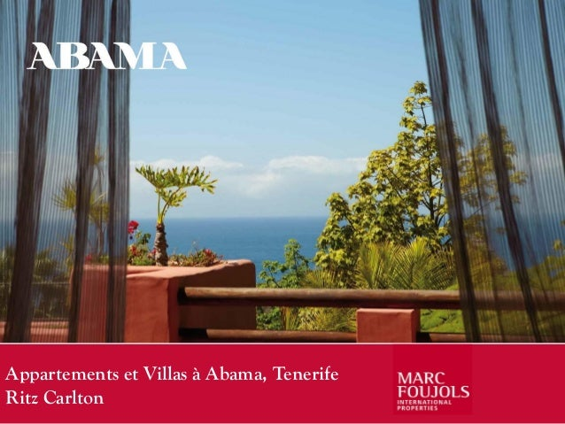 Appartements et Villas à Abama, TenerifeRitz Carlton