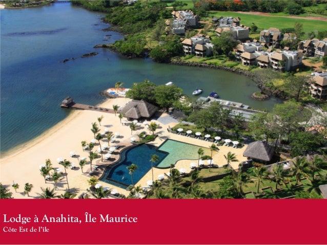 Lodge à Anahita, Île MauriceCôte Est de l'île