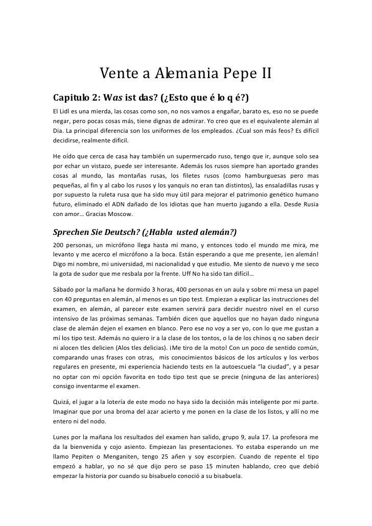 Vente a Alemania Pepe II Capitulo 2: Was ist das? (¿Esto que é lo q é?) El Lidl es una mierda, las cosas como son, no nos ...
