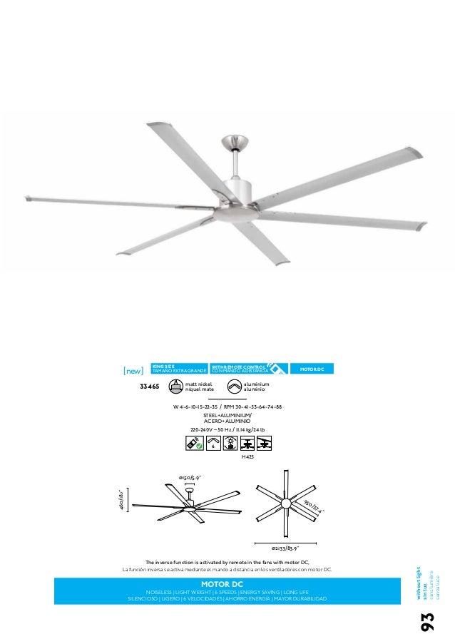 Ventiladores de techo faro 2015 iluminable com - Ventiladores de techo ...