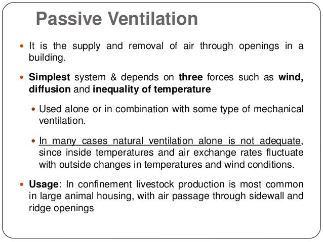 Ventilation And Cooling Systems For Animal Housing