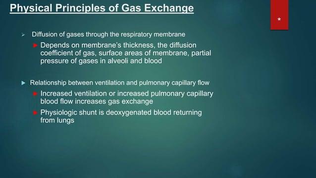 Gas Exchange Hypoxia classifications Hypoxic hypoxia Low arterial PO2 altitude, hypoventilation, lung diffusion capacity...