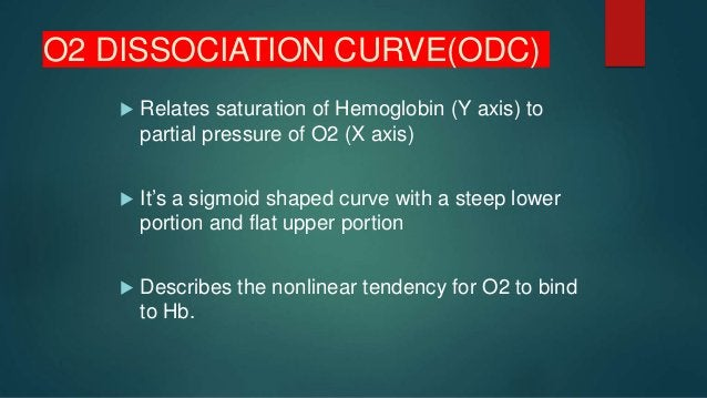Hydrogen ions  Acidosis decreases Hb-O2 affinity and curve is shifted to right  Deoxy Hb binds with H+ more actively tha...