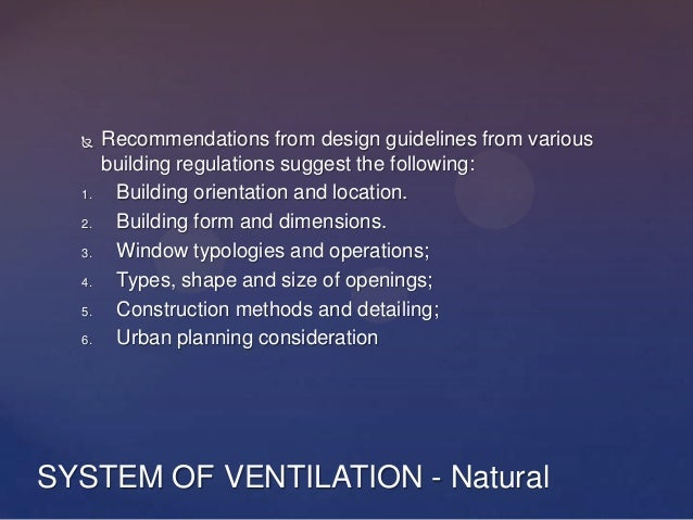 types of ventilation systems pdf