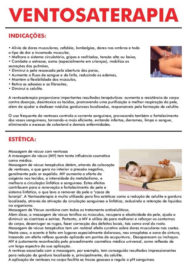 VENTOSATERAPIA INDICAÇÕES: • Alivia de dores musculares, cefaléia, lombalgias, dores nos ombros e todo o tipo de dor e inc...