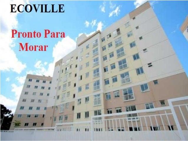 Apartamento Ventura  ECOVILLE / Mossungue pronto para morar 9609-7986