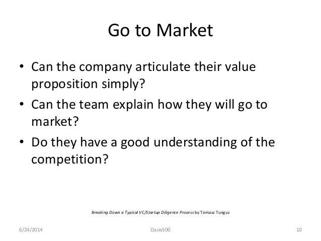 venture capital due diligence pdf