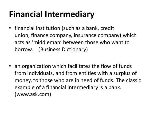 Venture Capital Firms As Financial Intermediaries