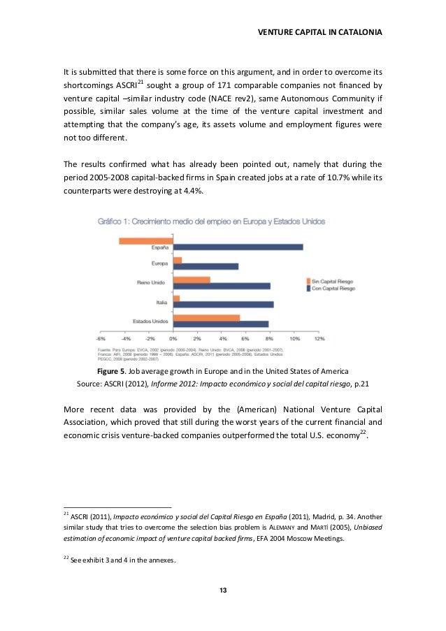 Venture Capital in Catalonia. The Underused Economic Growth Factor (b… - 웹