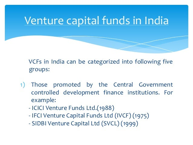 venture capital in india Indian private equity and venture capital association represents venture capital and private equity firms to promote the industry within india.