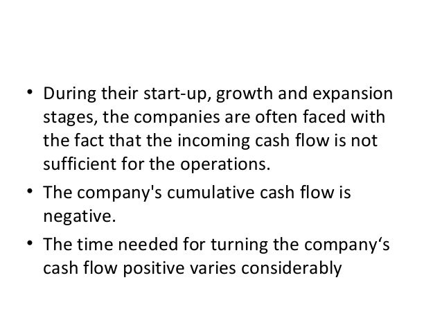 • During their start-up, growth and expansion stages, the companies are often faced with the fact that the incoming cash f...