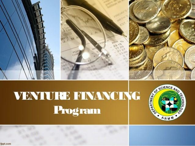 VENTURE FINANCING Program