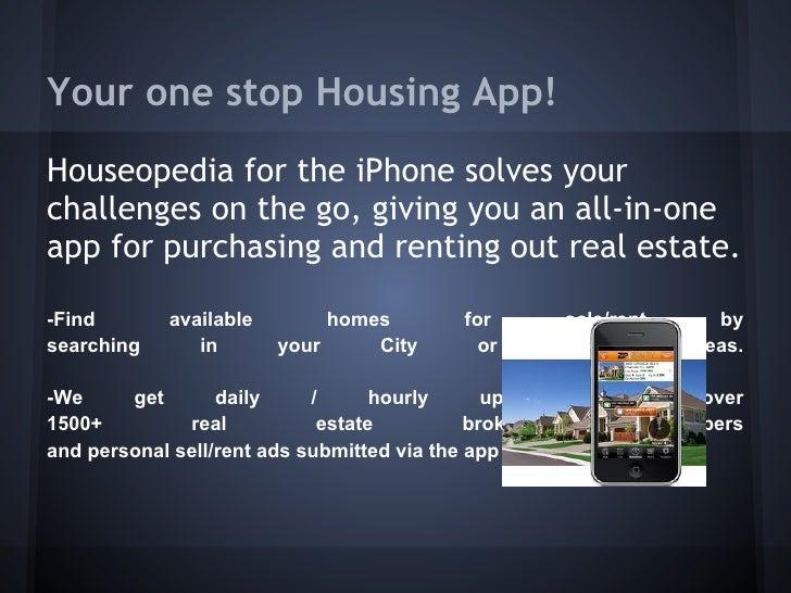 Venture Labs Houseopedia App Slide 3